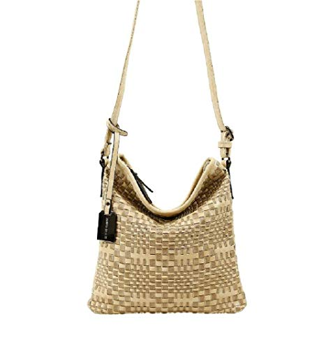 Taille WomenMessenger coloré Sable Sable Moontang Bag 27x27cm YZPAFFxTW