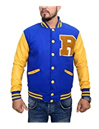 KJ APA Riverdale Jacket R Logo Archie Andrews Letterman Varsity Outfit