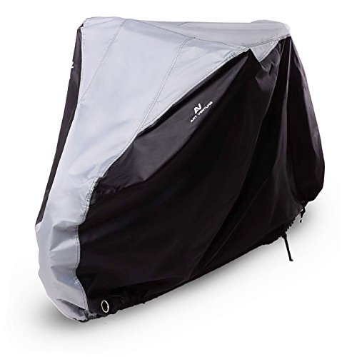 Art-Venture Bike Cover Waterproof Outdoor Bicycle Cover Heavy Duty Ripstop Fabric Anti-UV Protection To Extra Protect Your Bike on All Weather Conditions (Drive Rip)