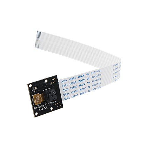 Raspberry Pi 5MP 1080P Camera NoIR (No IR Filter) Night Vision Module (Raspberry Noir Pi Module Camera)