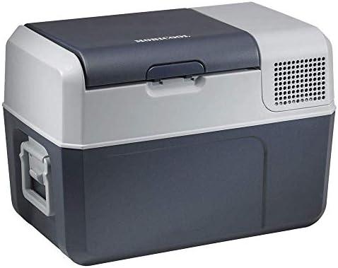 Mobicool FR40 Nevera y congelador de compresor portátil, 38 l, con una capacidad de refrigeración de +10°C a -10°C para coche, camión, barco y ...