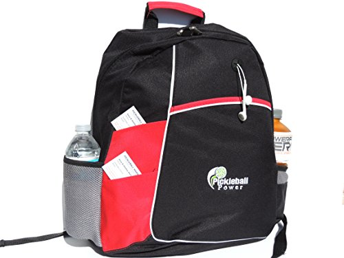 Pickleball Marketplace Metro Backpack – New embroidered – Red