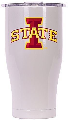 ORCA Chaser Logo Iowa State Cooler, Pearl, 27 oz by ORCA