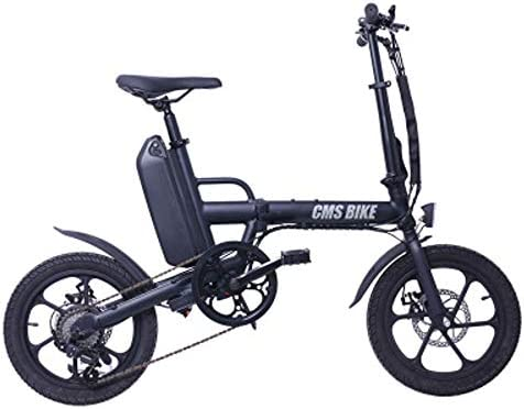 JH Bicicleta eléctrica, 13Ah Batería de Litio de Bicicletas de 16 ...