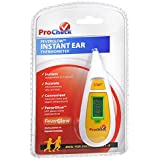 ProCheck FeverGlow Instant Ear Thermometer, Model IRDY1-1-PRO 1 ea