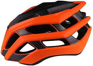 LIDAUTO Casco Ciclismo Casco Bicicleta MTB M/L,Orange,L: Amazon.es ...