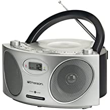 Emerson PD6810 Portable CD Boombox With AM/FM Radio