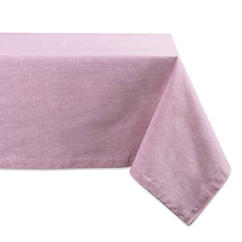 DII Washable Everyday Chambray Tablecloth