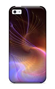 Juliam Beisel Fashion Protective Swirly Abstract Hd Wide Case Cover For Iphone 5c