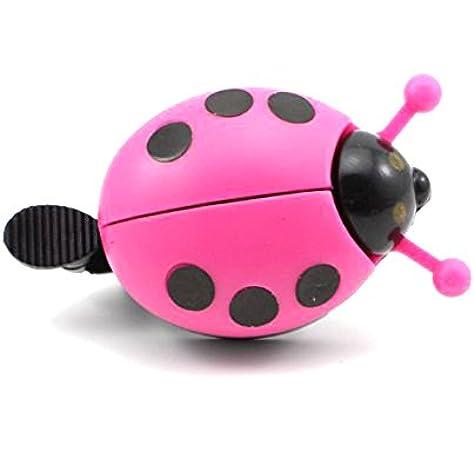 Aluminum Alloy Bicycle Bells Ring Cartoon Beetle Ladybug Bell for Kids Bike Horn