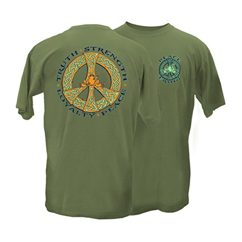 peace-frogs-adult-celtic-truth-short-sleeve-t-shirt