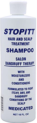 Stopitt Hair & Scalp Treatment Shampoo, 16 oz (Pack of 7) by Stopitt
