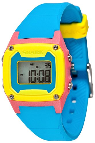 Freestyle Unisex 102271 Classic-Mid Digital Red Case Blue Strap Watch (Shark Watch School)