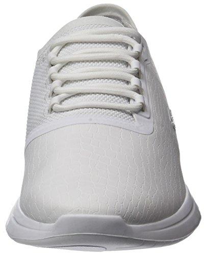 Lacoste Mens Lt Fit 118 1 Spm Sneaker Bianco (wht / Wht)