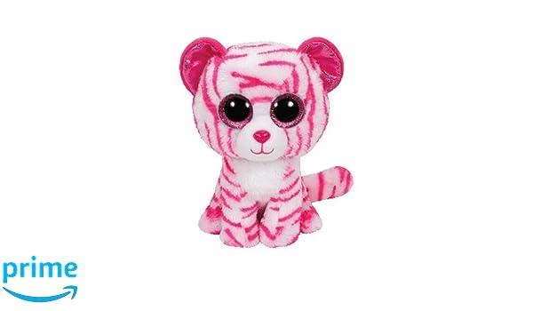 Ty - Beanie Boos Asia, Tigre, 15 cm, Color Blanco / Rosa (United Labels Ibérica 36180TY): Amazon.es: Juguetes y juegos