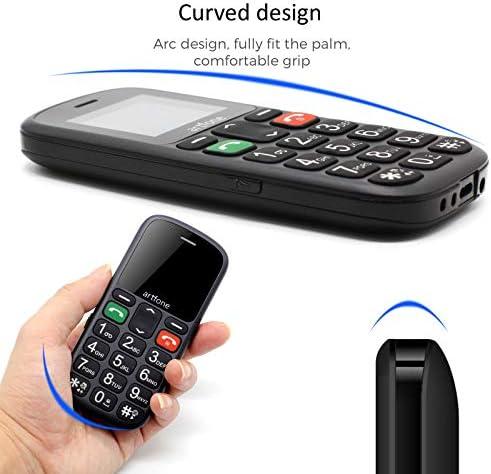 Artfone Teléfono Móvil con Teclas Grandes para Mayores con SOS botón.: Amazon.es: Electrónica