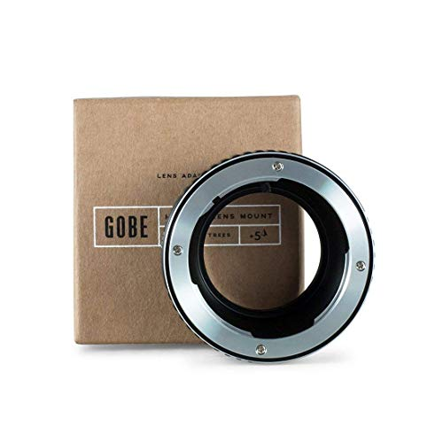 Gobe Lens Mount Adapter: Compatible with Olympus OM Lens and Micro Four Thirds (M4/3) Camera Body (Olympus Om To Micro Four Thirds Adapter)
