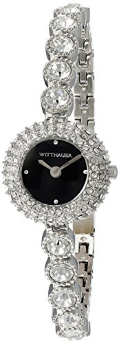 (Bulova Women's Analog-Quartz Watch with Stainless-Steel Strap, Silver, 7 (Model: WN4081))