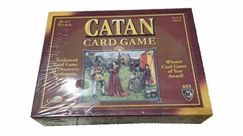 - Catan Card Game, Klaus Teuber, Revised Edition 485
