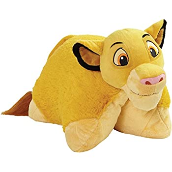 "Disney Lion King Pillow Pets - Simba Large 16"" Stuffed Animal Plush Toy"