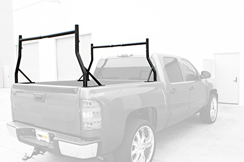MaxxHaul 70386 Black Adjustable Pick-Up Truck Rack