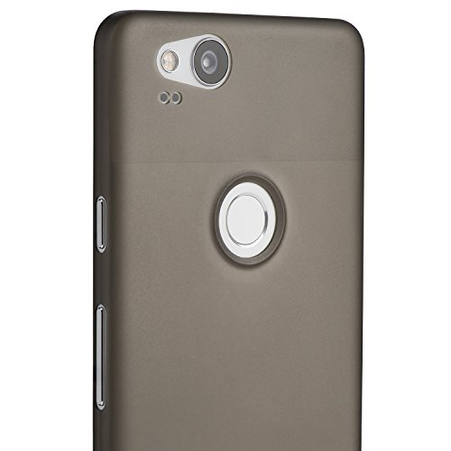 on sale 699ed 19503 totallee Pixel 2 Case, Thinnest Cover Premium Ultra Thin Light Slim Minimal  Anti-Scratch Protective - for Google Pixel 2 (Grey)