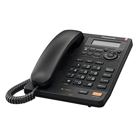 Panasonic KX-TS620B Integrated Corded Phone with All-Digital Answering System, Black Panasonic Canada KXTS620B
