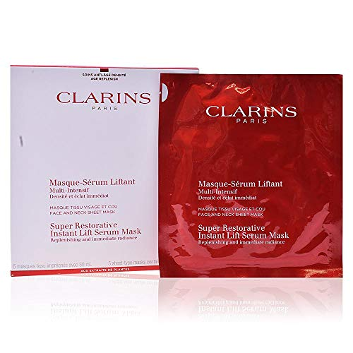 Clarins Multi-Intensive Instant Lift Serum Mask - Mask Clarins Facial