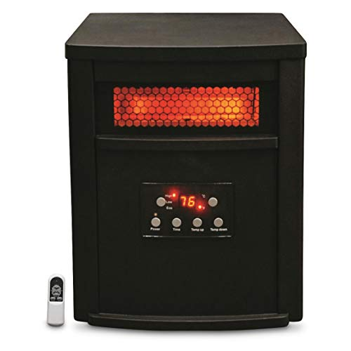 8 element infrared quartz heater - 1