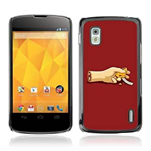 YOYOSHOP [Funny Zombie Foortune Cookie] LG Google Nexus 4 Case by Maris's Diary