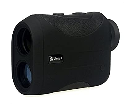 Golf Rangefinder - Range : 5-1800, 1200 Meters, +/- 0.3 Meters Accuracy, Laser Rangefinder with Height, Angle, Horizontal Distance Measurement Perfect for Hunting, Golf, Engineering Survey by Uineye