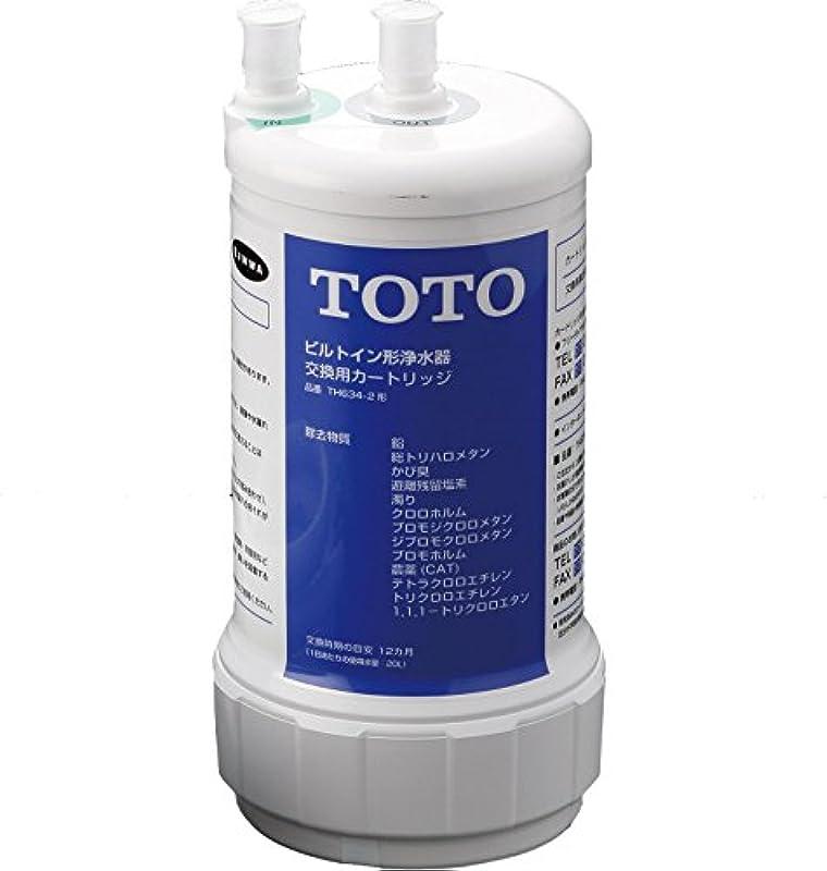 TOTO【13물질 제거 타입】빌트 인용 정수 카트리지 TH634-2