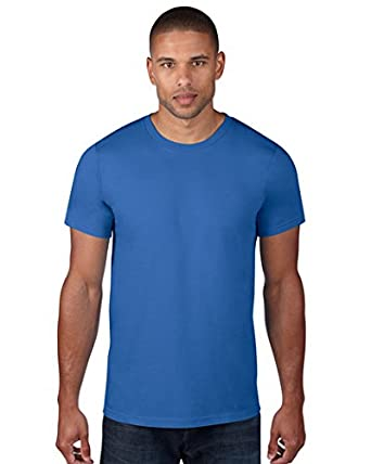 9087a51f2 Amazon.com: Anvil 980 Adult Lightweight Tee-Royal44: Clothing