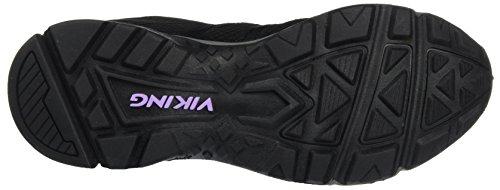 Viking Damen Komfort GTX W Outdoor Fitnessschuhe Schwarz (Black/Pewter)
