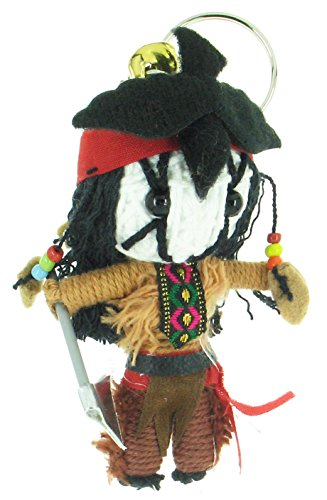 [Tonto The Lone Ranger Voodoo String Doll Keyring Keychain] (Hollywood Film Fancy Dress Costumes)