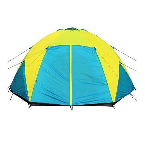 Tente d?me pour couchage camping Adventure imperm¨¦abl, fibre de verre p?le, 5¨C8 personnes