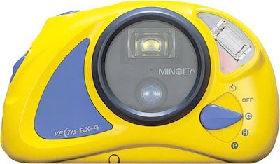 Minolta Vectis Waterproof Aps Camera - 1