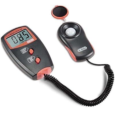 Dr.Meter Digital Illuminance/Light Meter LX1010B , 0 - 100,000 Lux Luxmeter