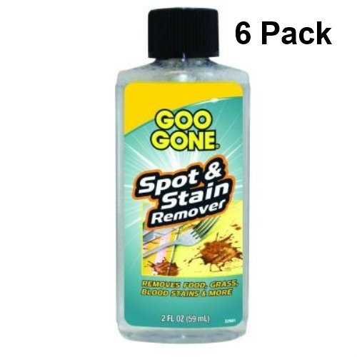 Goo Gone Spot and Stain Remover, 2 Oz (6 Pack)