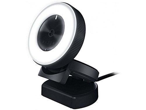 Razer Kiyo 1080p 30 FPS720 p 60 FPS Streaming Webcam with Adjustable Brightness Ring Light Built in Microphone