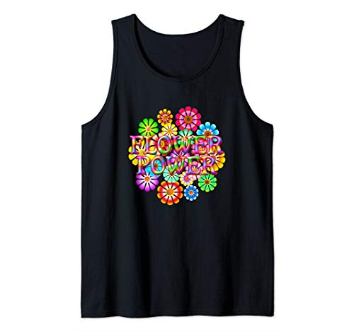 Flower Power Fun Flowers Tank Top -