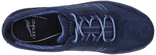 Dansko Womens Helen Fashion Sneaker In Camoscio Blu Scuro