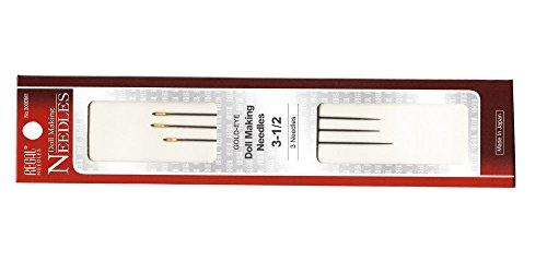 Long Doll Needles (REGAL Needles Doll Marking SILVER-EYE, 300DM Series)