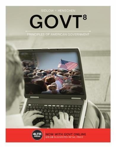 Govt  With Govt Online  1 Term  6 Months  Printed Access Card   New  Engaging Titles From 4Ltr Press