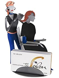 Amazon dentist with patient business card holder hk steel hair stylist recycled metal business card holder colourmoves