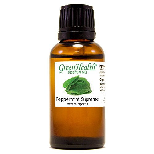 Price comparison product image 1 oz Peppermint Supreme (Mentha piperita) Essential Oil (100% Pure & Uncut) - GreenHealth
