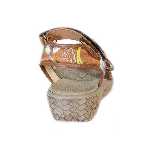 Primigi - Primigi Kinder Sandalen Braun Leder Velcro 68770 Braun