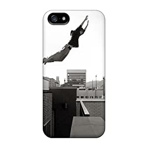 JoannaVennettilli Apple Iphone 5/5s Great Hard Cell-phone Cases Unique Design HD Sports Parkour Boy Pictures [Zda3206xudc]
