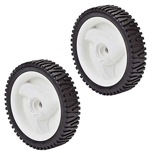 Oregon 72-033 8 x 1.75 Semi Pneumatic Drive Wheel (2 Pack) ()