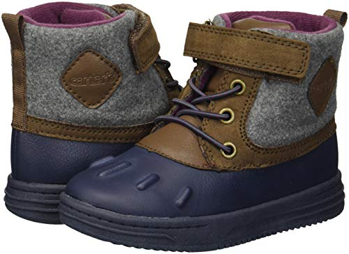 Pictures of Carter's Kids Boy's Bay2-b Navy Duck Boot Fashion CF180272 4
